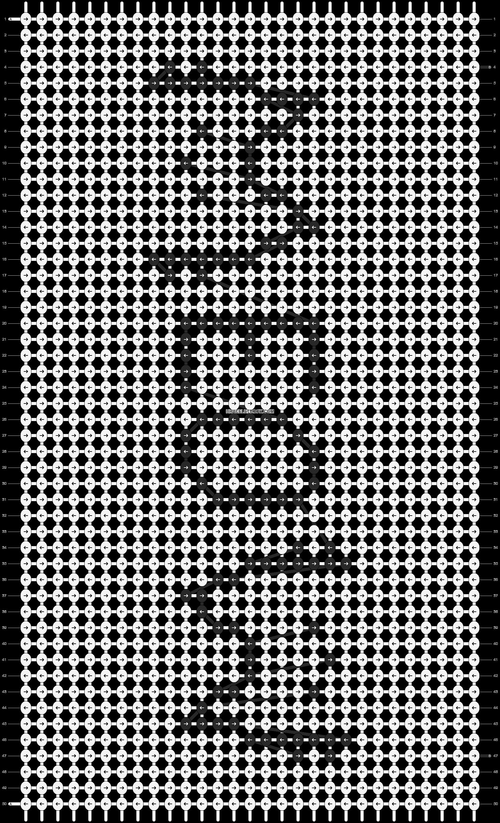 Alpha pattern #90740 pattern