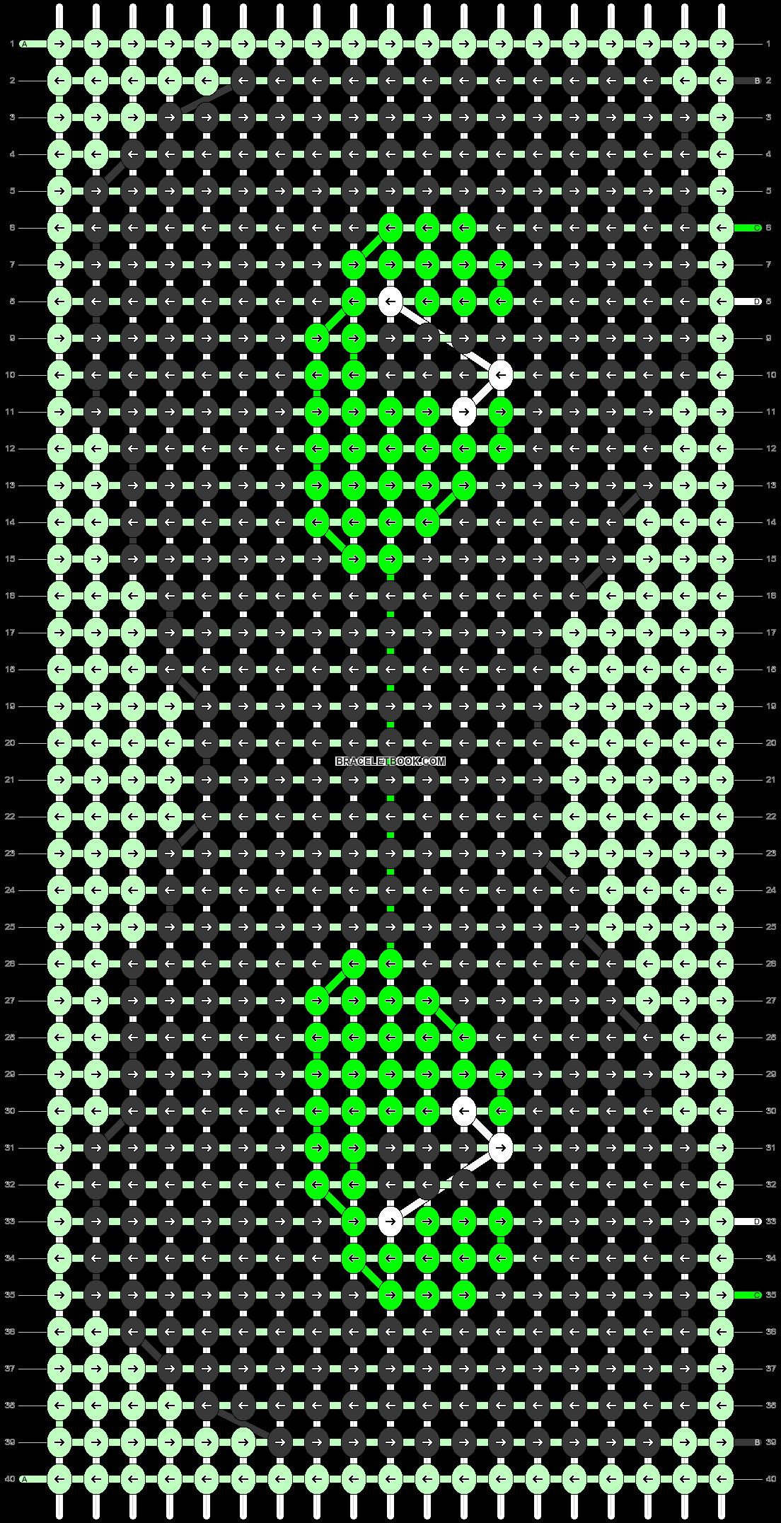 Alpha pattern #90741 pattern