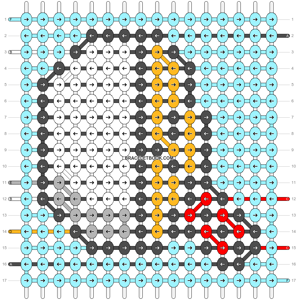 Alpha pattern #90774 pattern