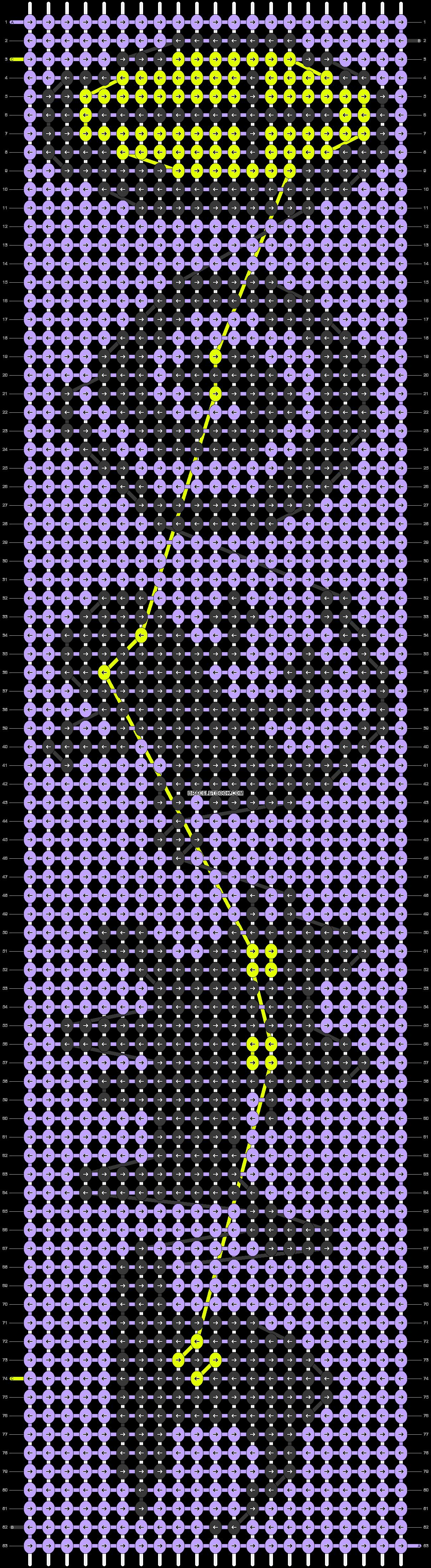 Alpha pattern #90807 pattern