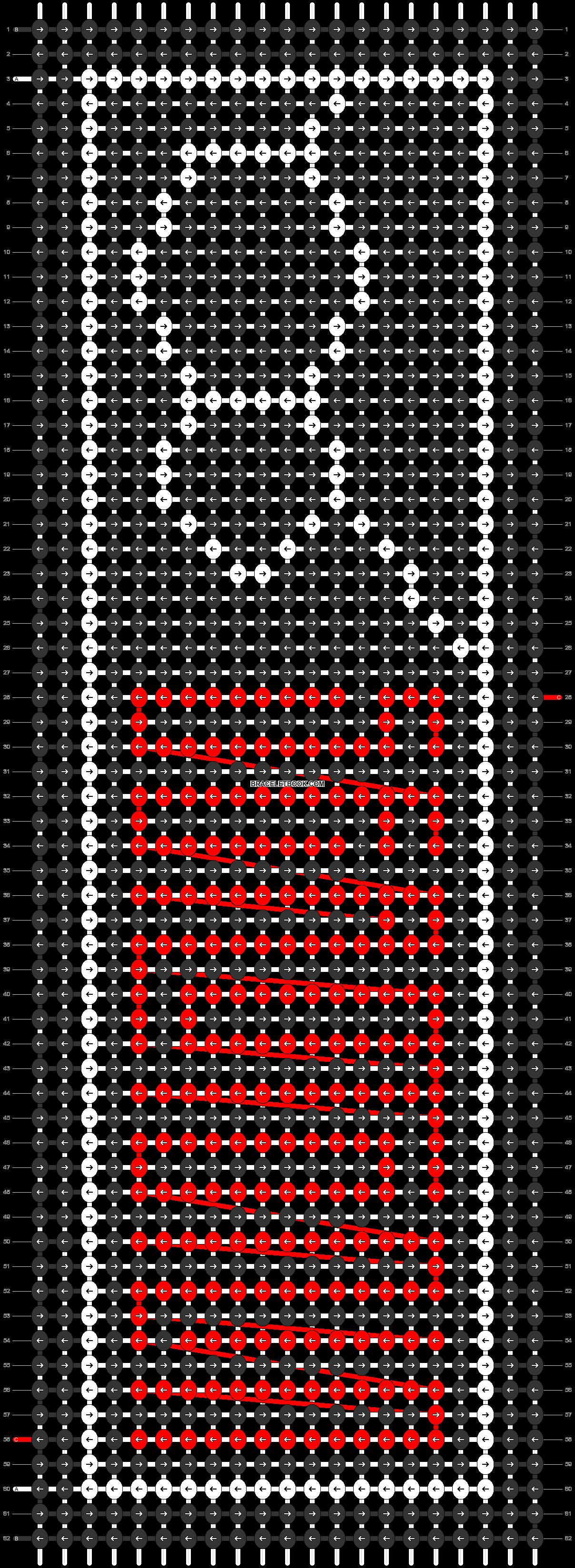 Alpha pattern #90811 pattern