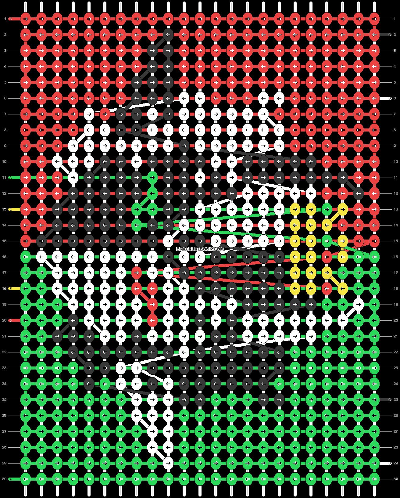 Alpha pattern #90903 pattern