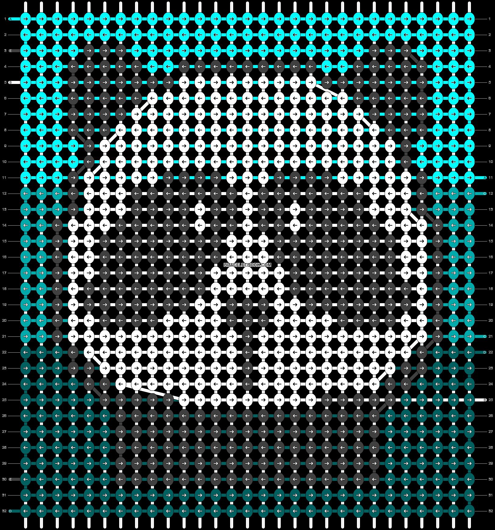 Alpha pattern #90910 pattern