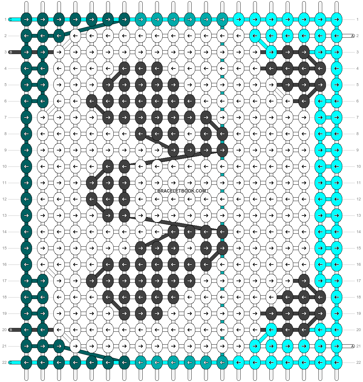 Alpha pattern #90923 pattern