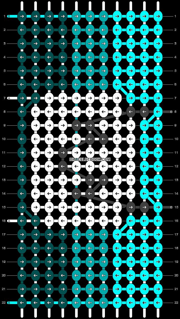 Alpha pattern #90924 pattern