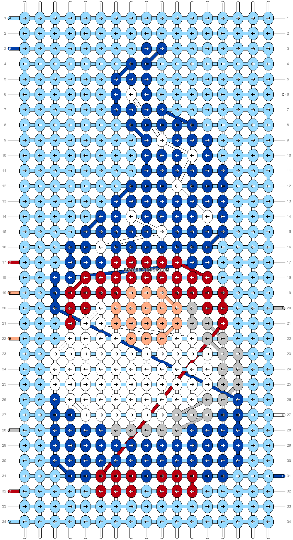 Alpha pattern #90937 pattern