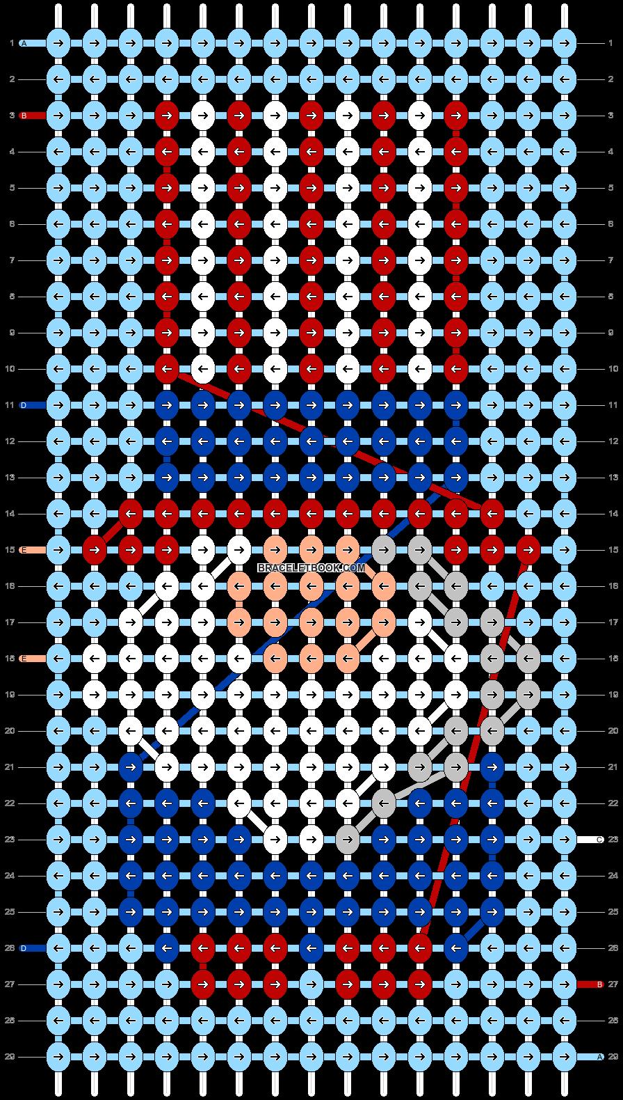 Alpha pattern #90938 pattern