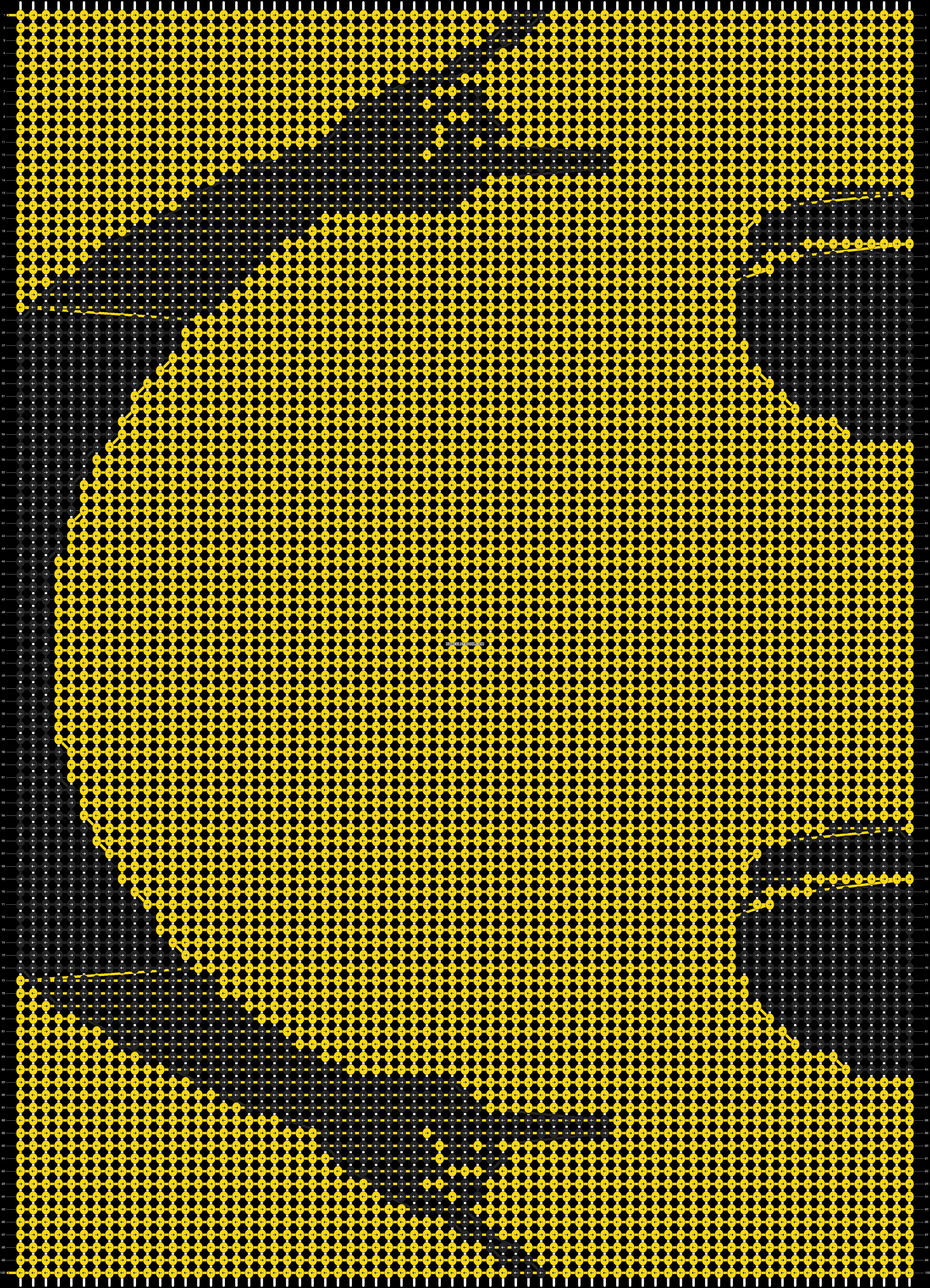 Alpha pattern #90944 pattern