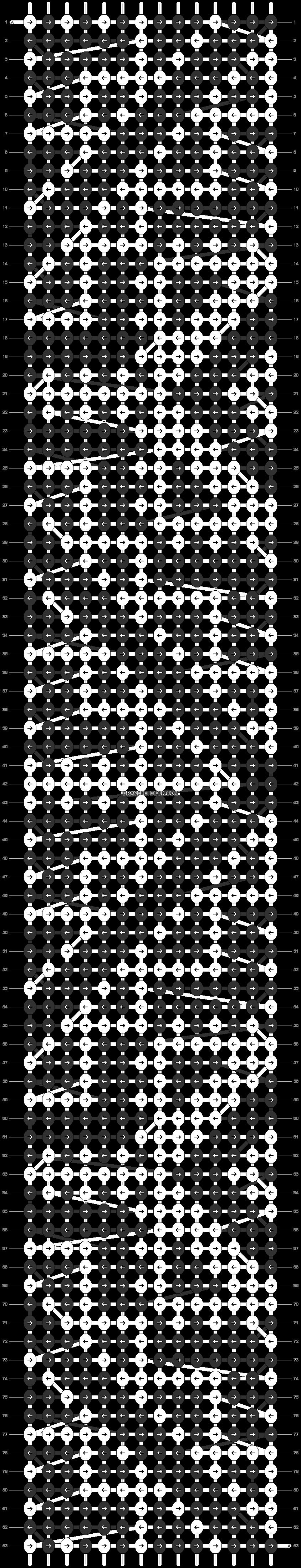 Alpha pattern #90951 pattern