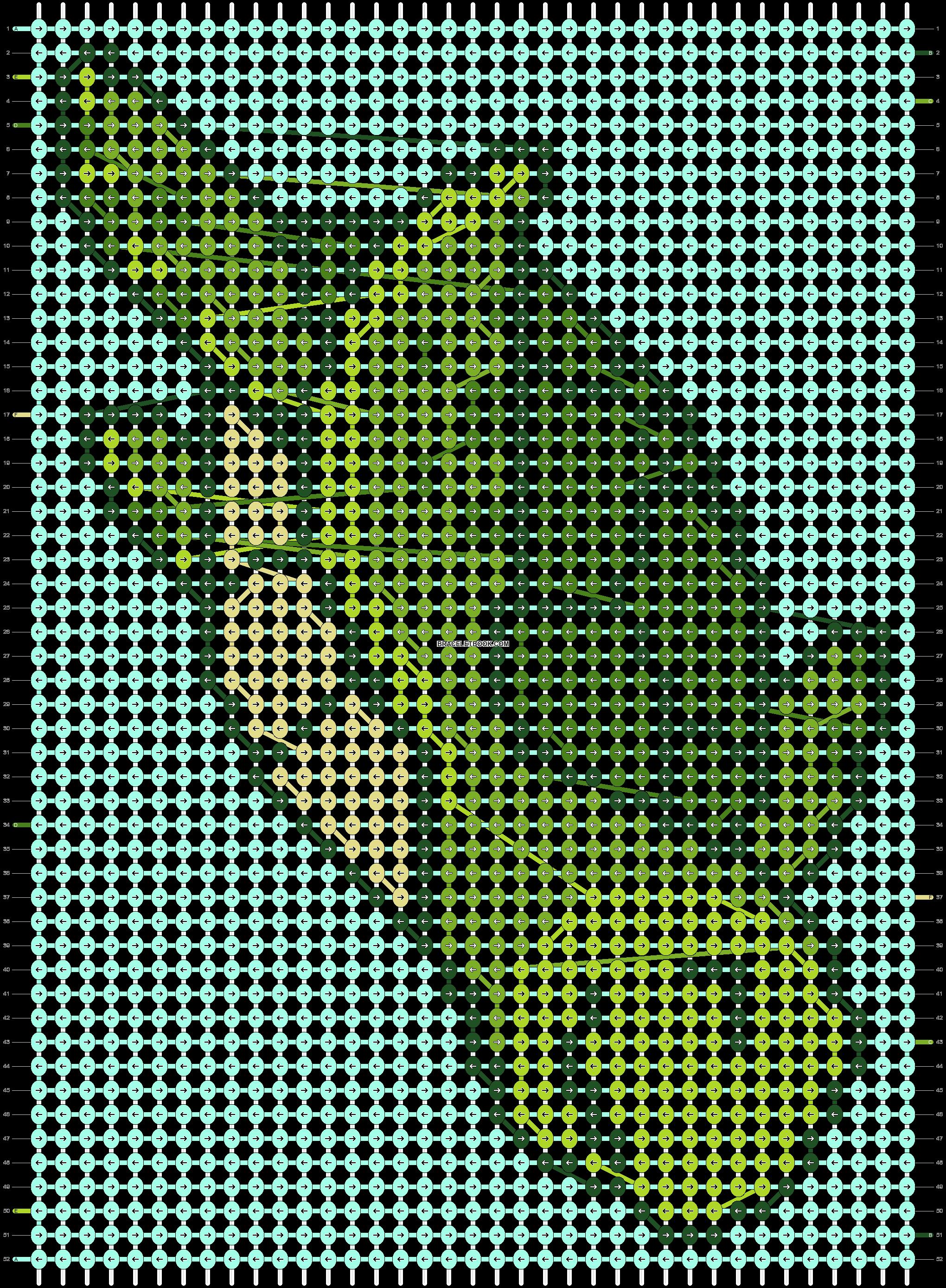 Alpha pattern #90963 pattern
