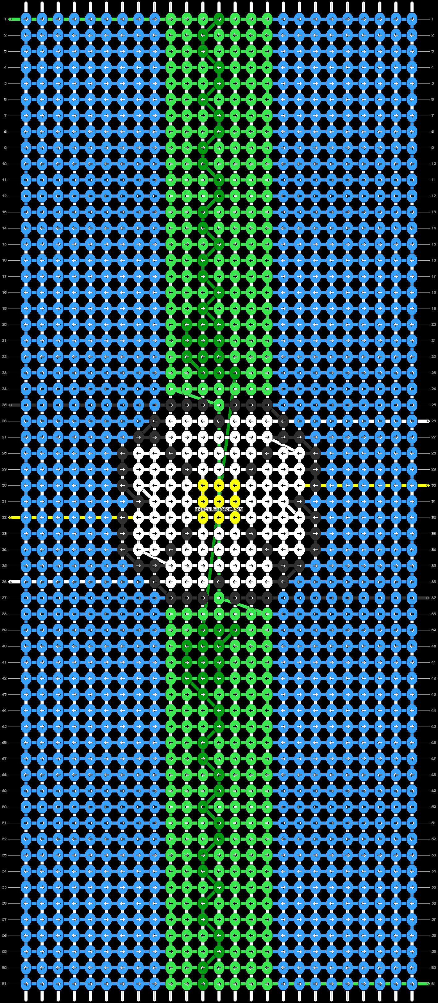 Alpha pattern #90973 pattern