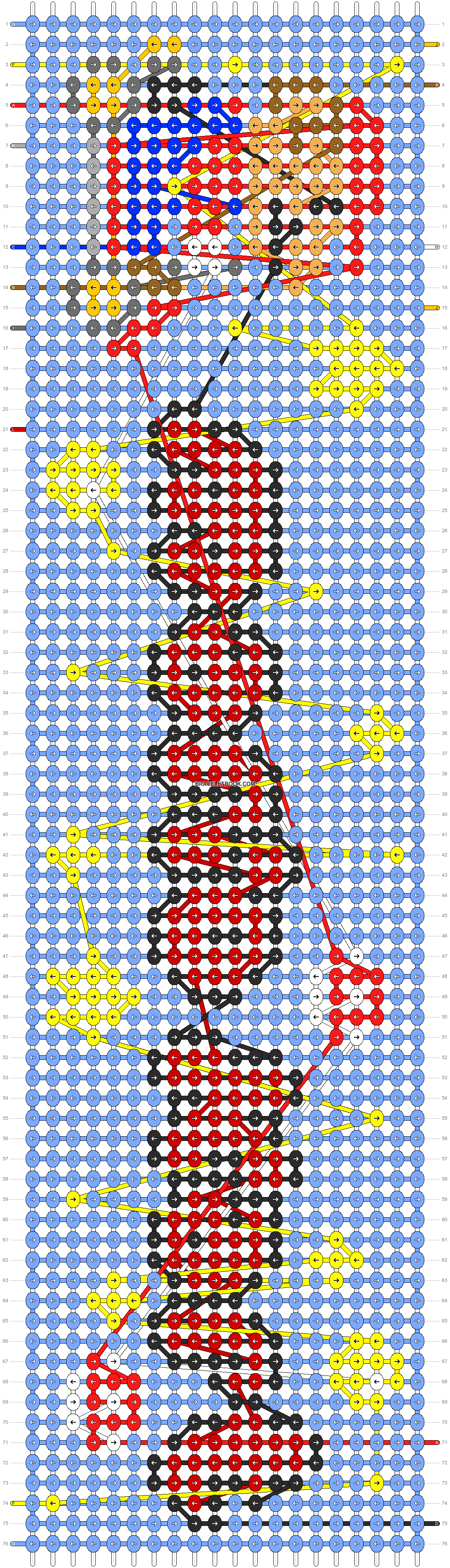 Alpha pattern #90981 pattern