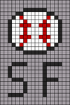 Alpha pattern #90998