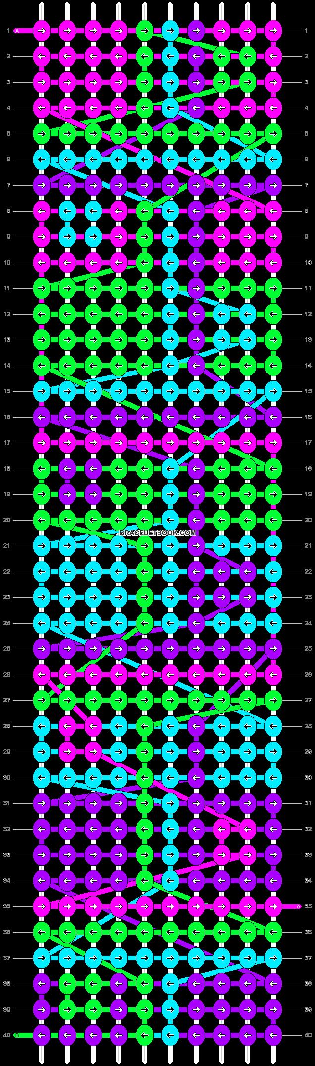Alpha pattern #91001 pattern