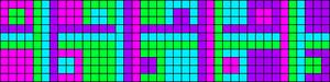 Alpha pattern #91001