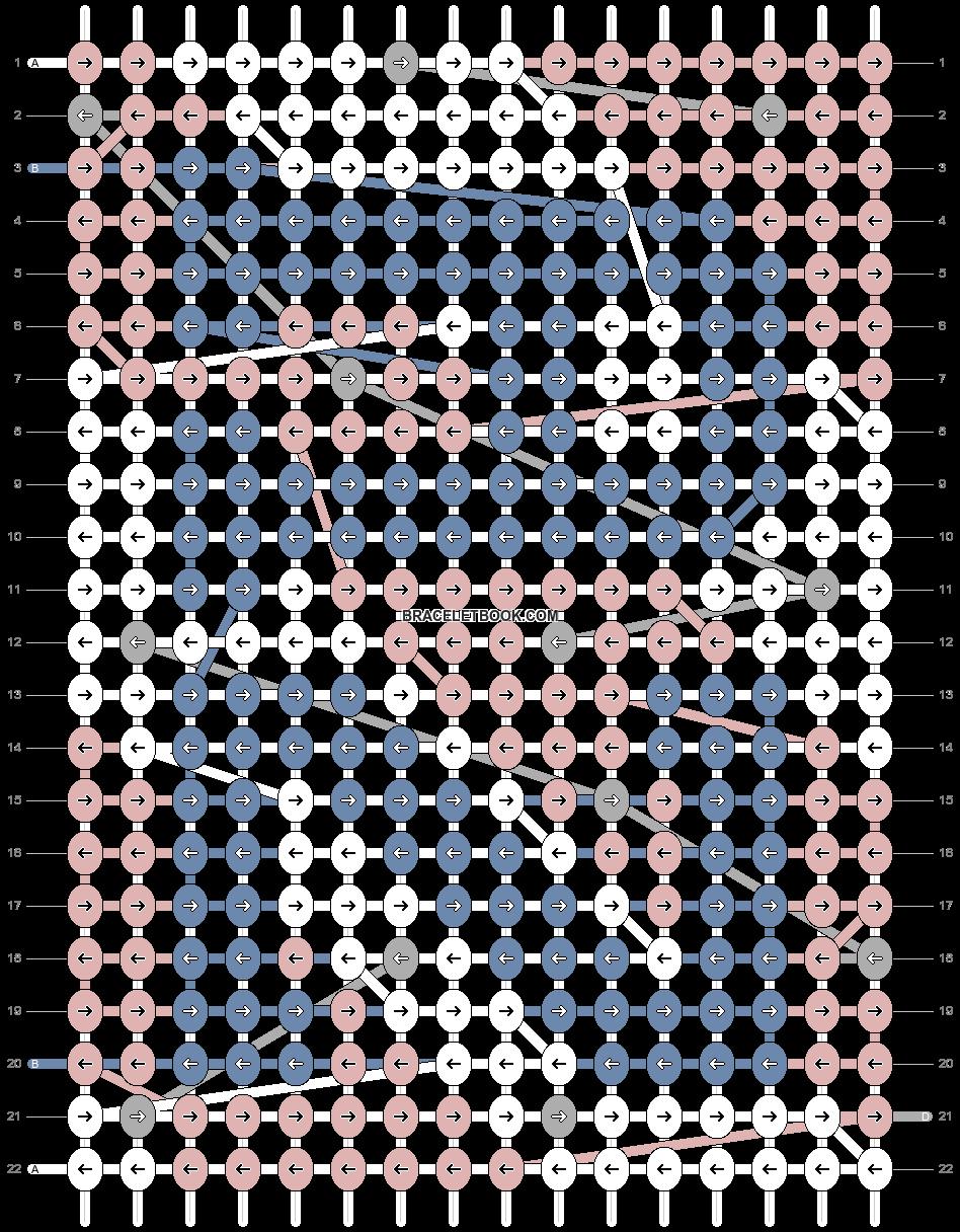 Alpha pattern #91005 pattern