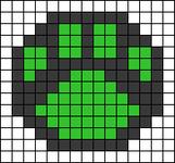 Alpha pattern #91011