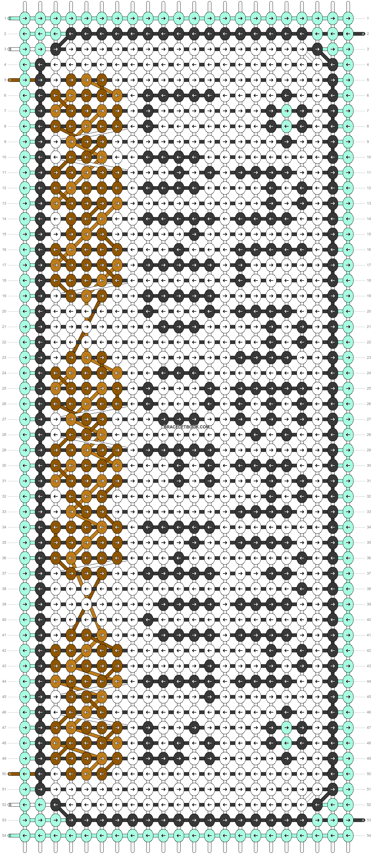 Alpha pattern #91048 pattern