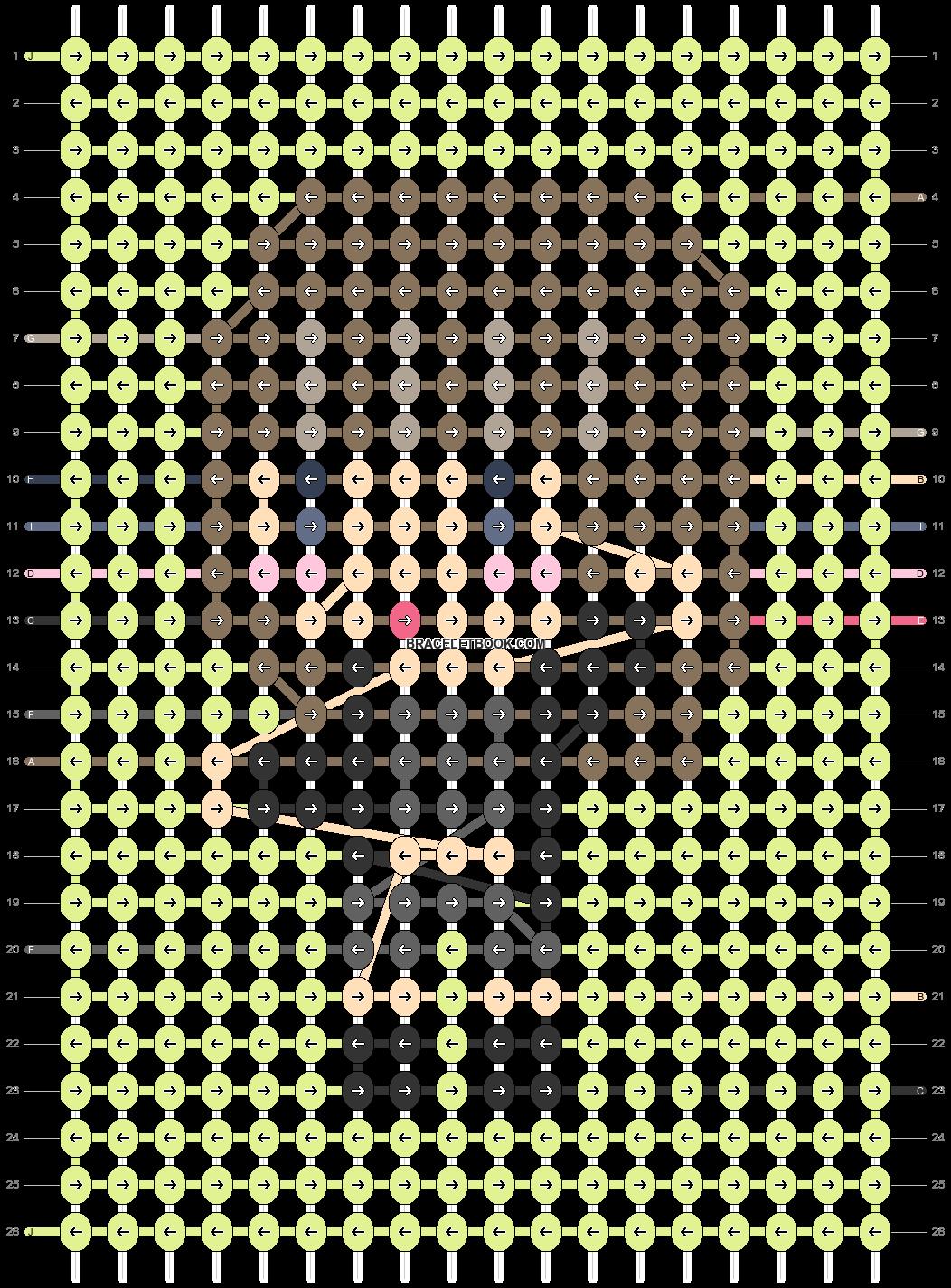 Alpha pattern #91060 pattern