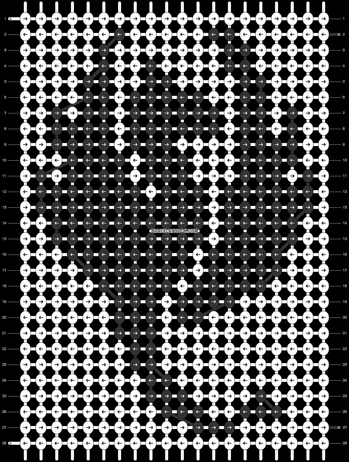 Alpha pattern #91068 pattern