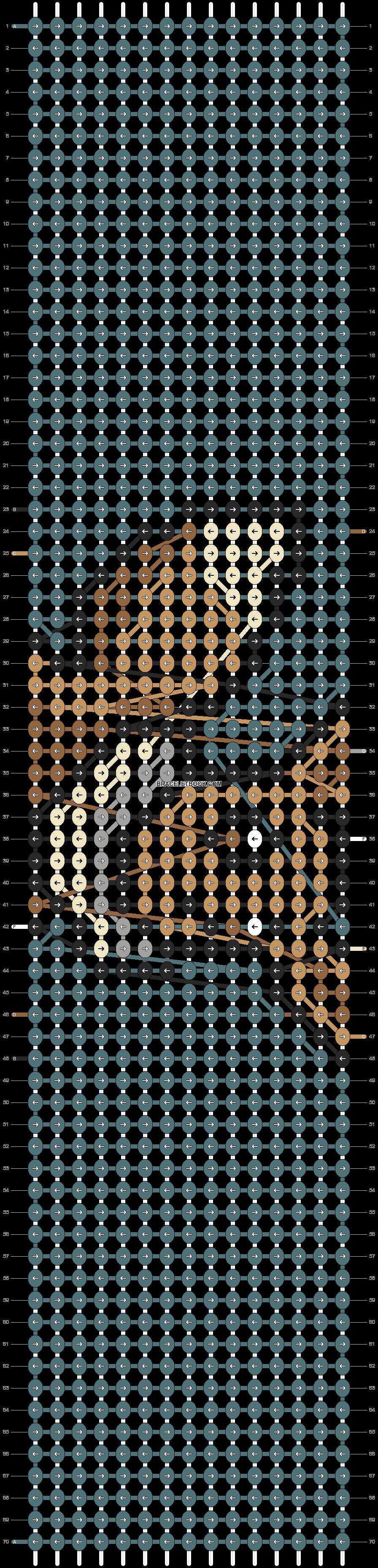 Alpha pattern #91104 pattern