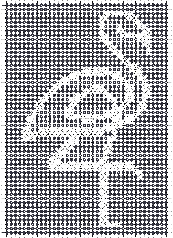 Alpha pattern #91114 pattern