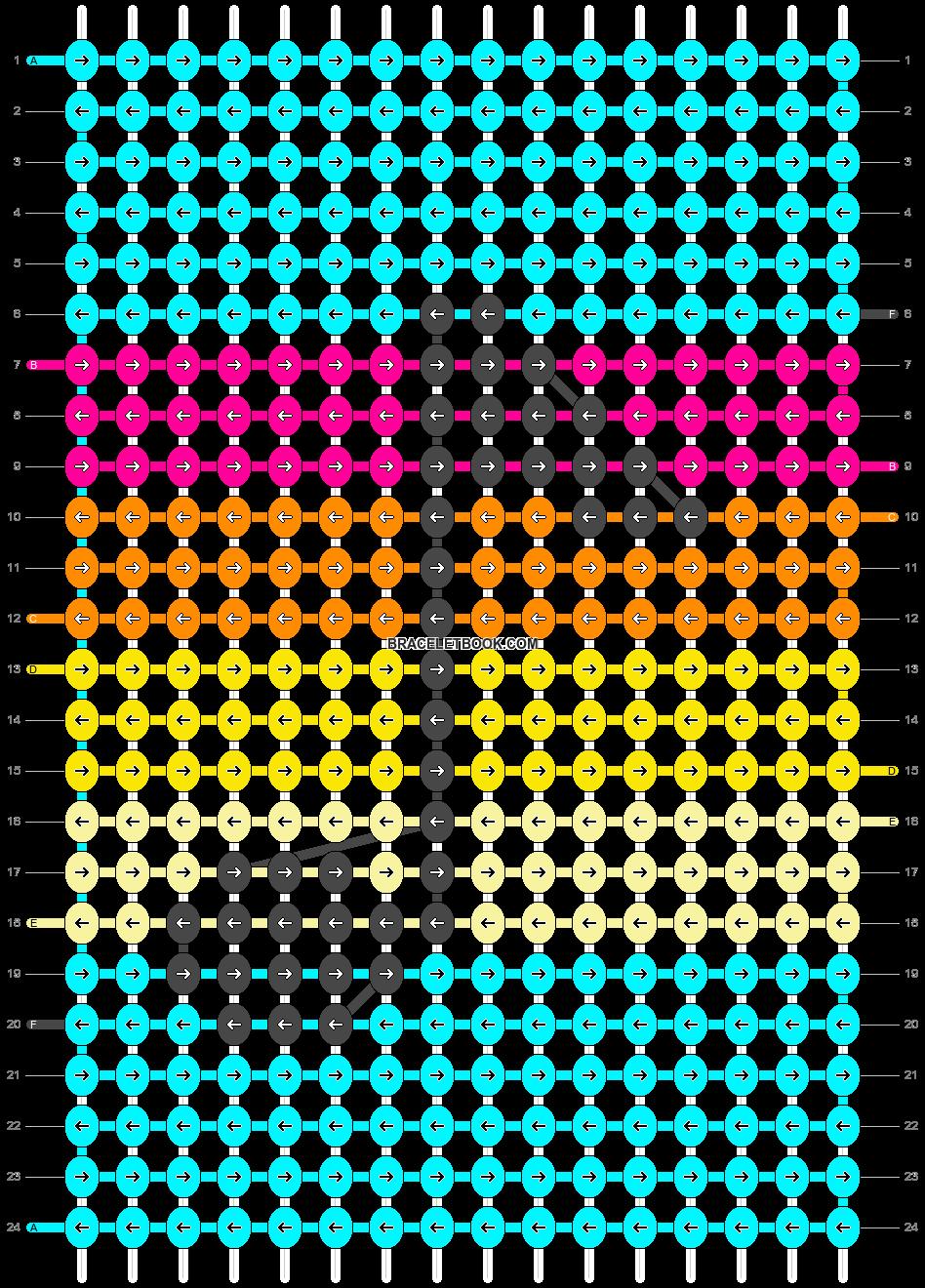 Alpha pattern #91118 pattern