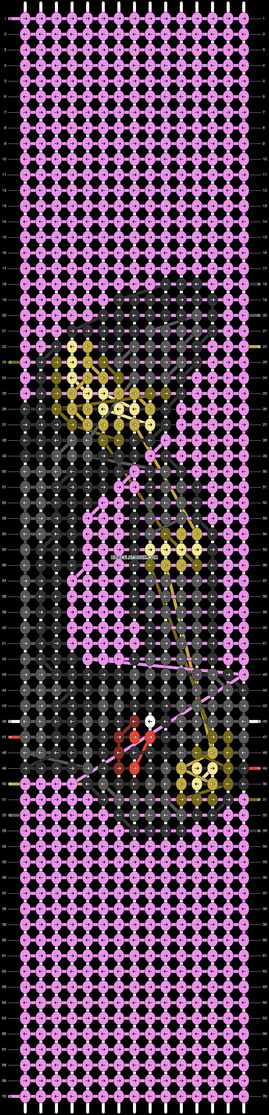 Alpha pattern #91127 pattern