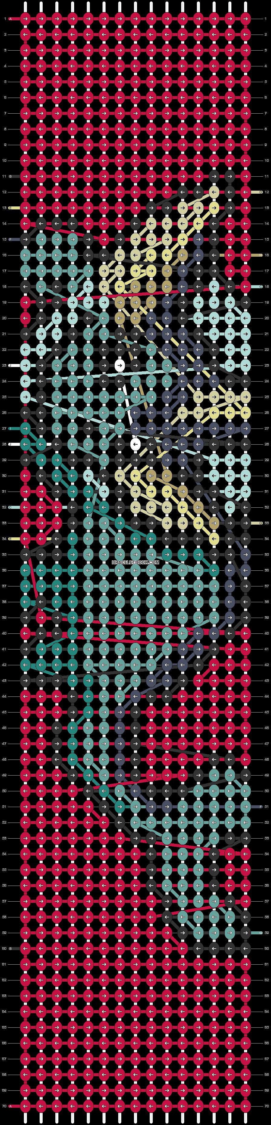 Alpha pattern #91129 pattern