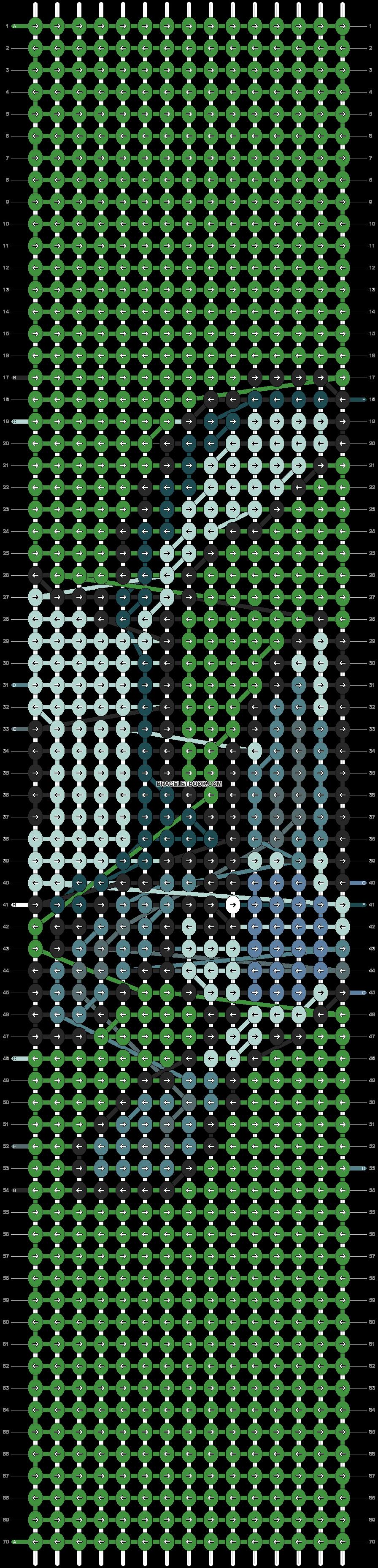 Alpha pattern #91130 pattern