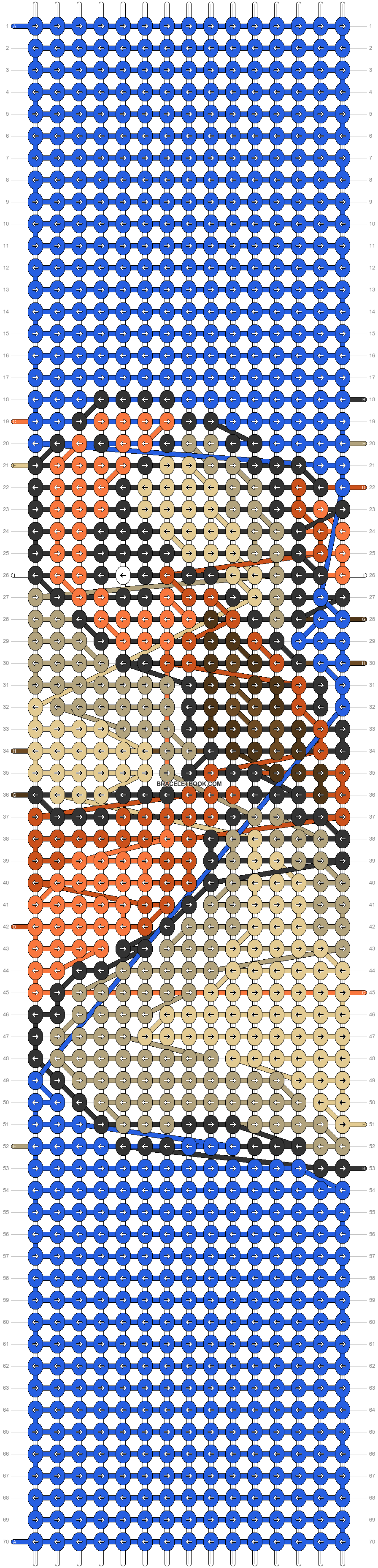 Alpha pattern #91133 pattern