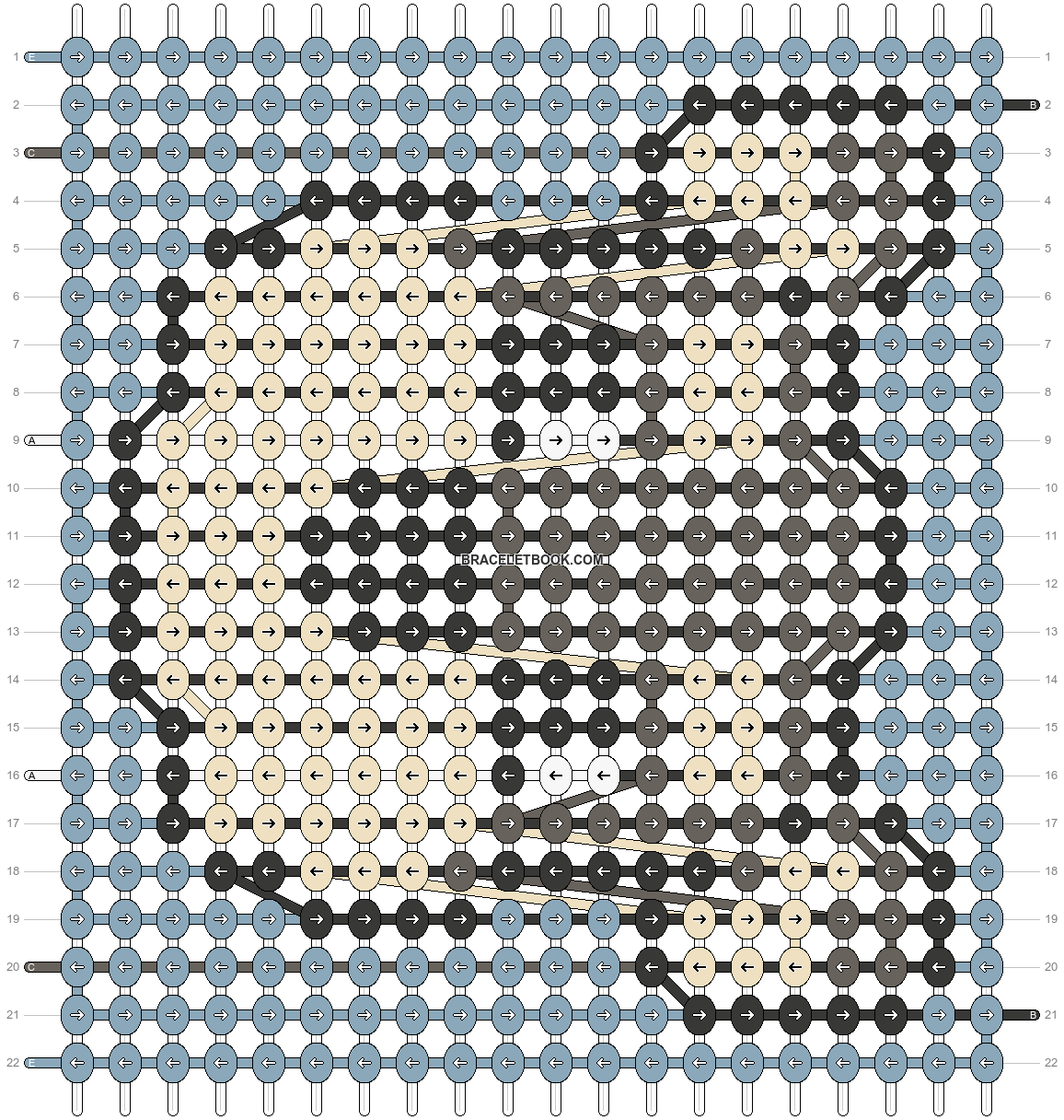 Alpha pattern #91185 pattern