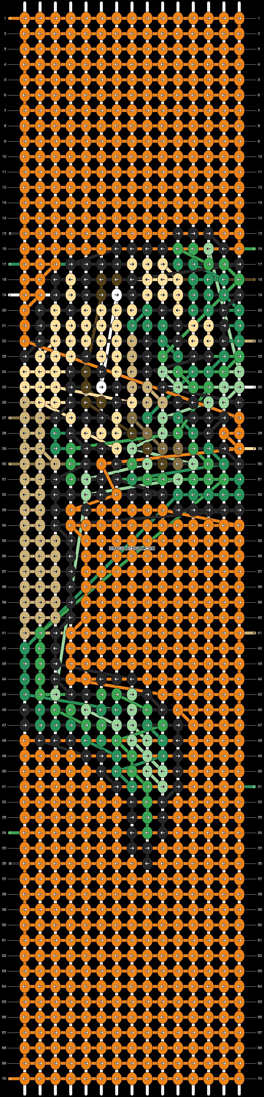 Alpha pattern #91202 pattern