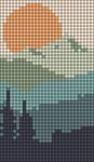 Alpha pattern #91217