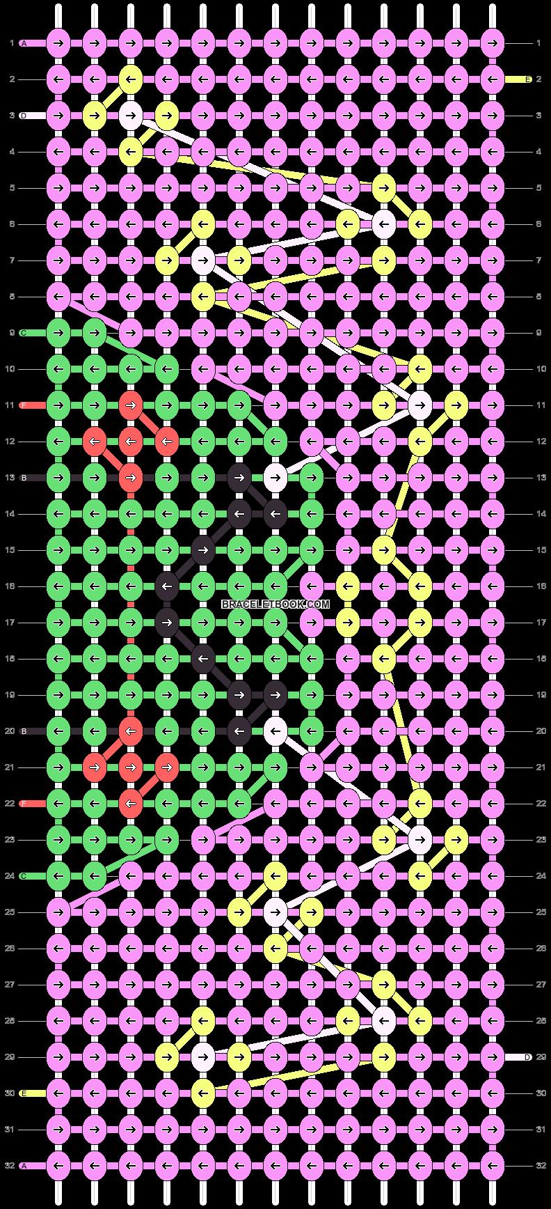 Alpha pattern #91223 pattern