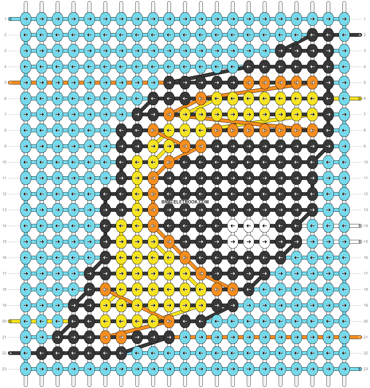 Alpha pattern #91256 pattern