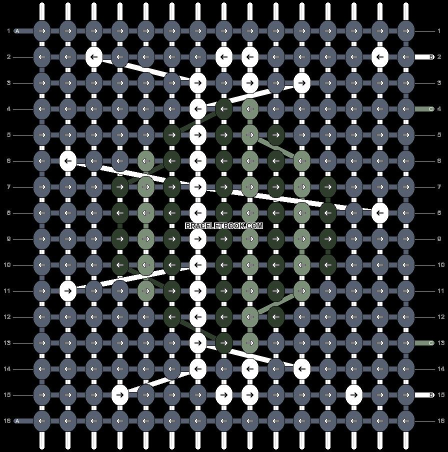 Alpha pattern #91259 pattern