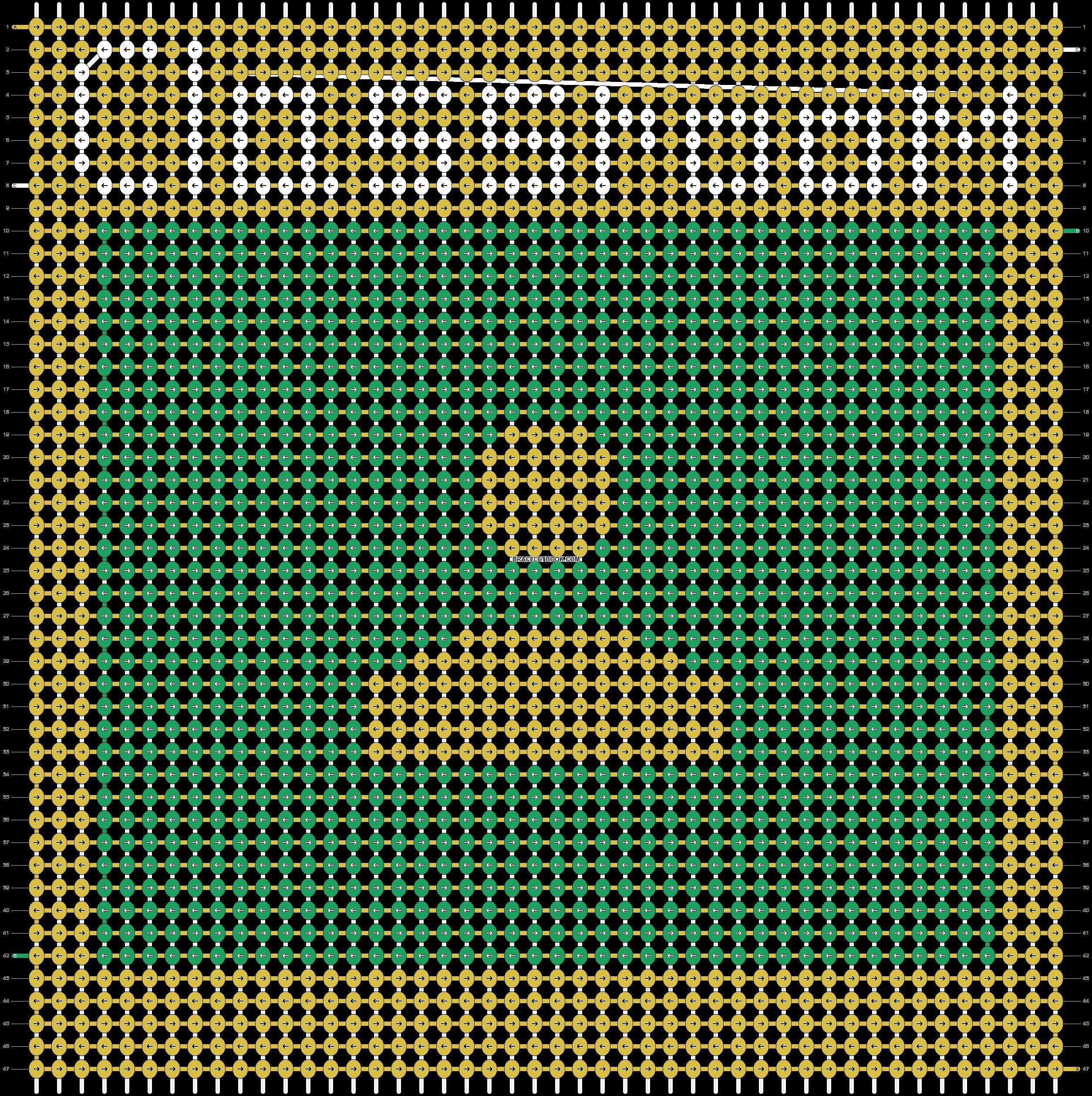 Alpha pattern #91262 pattern