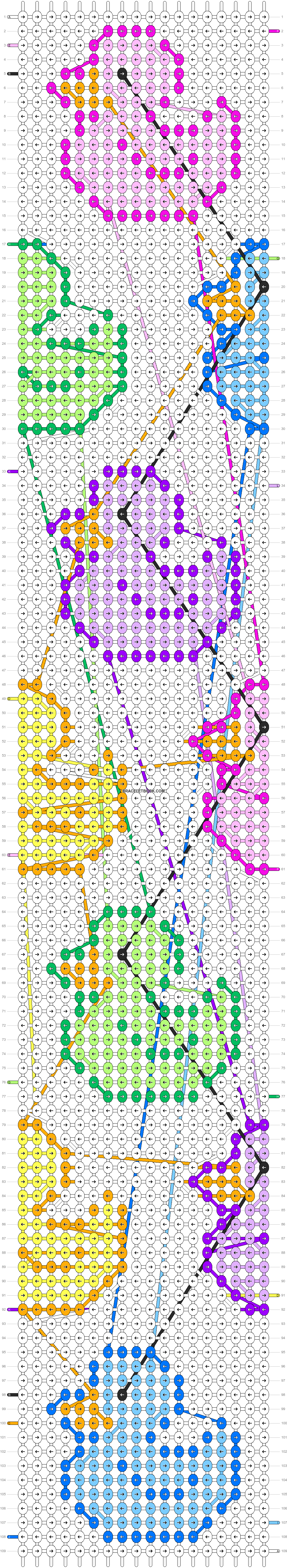 Alpha pattern #91281 pattern