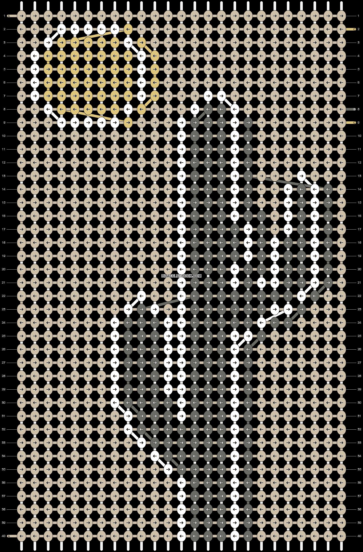 Alpha pattern #91285 pattern