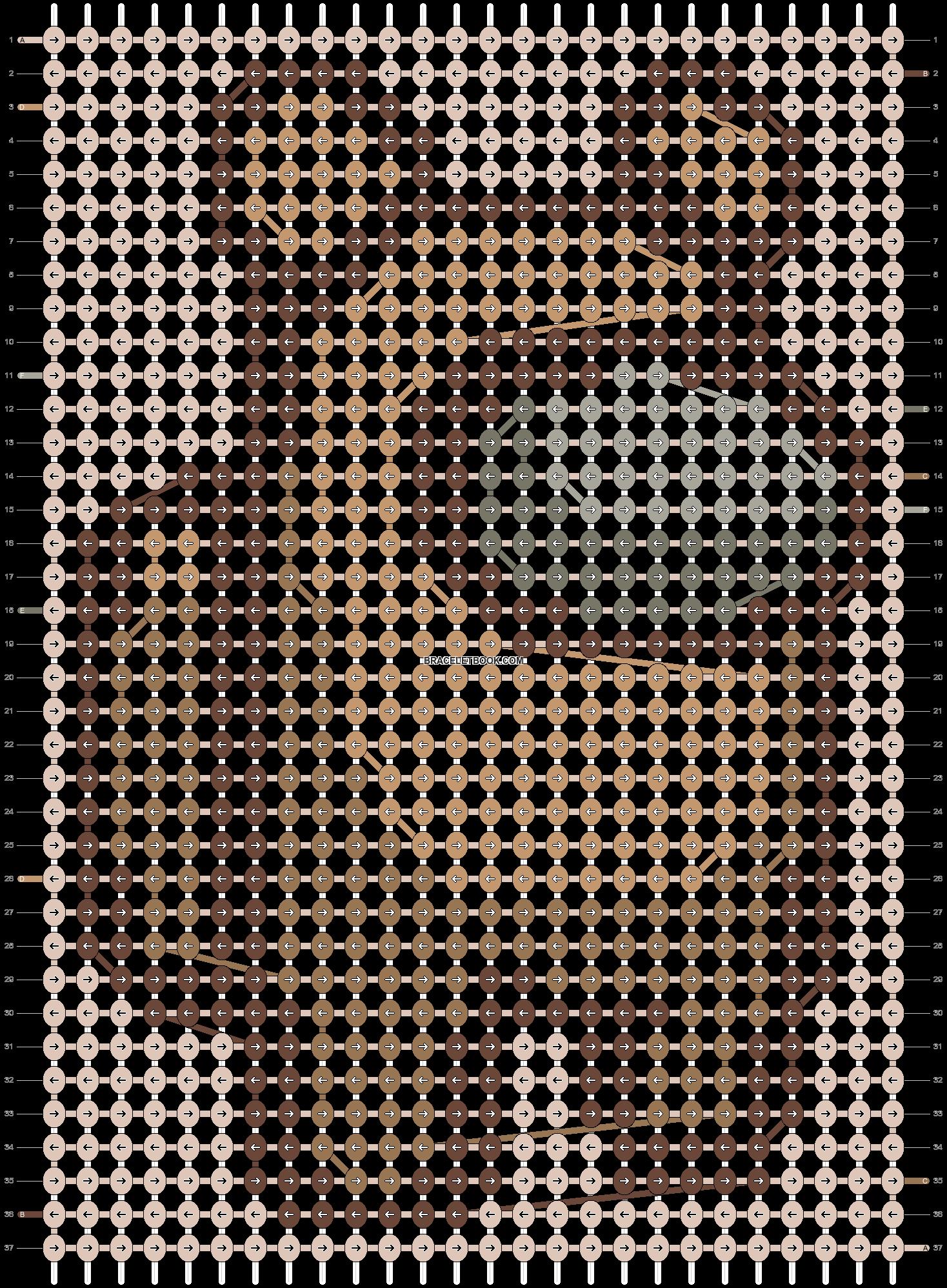Alpha pattern #91308 pattern