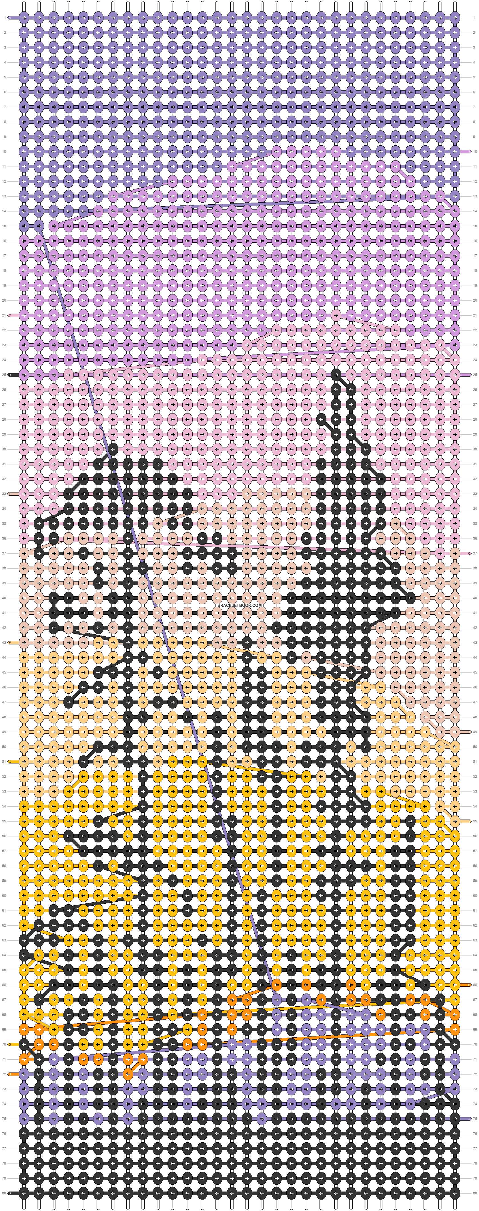 Alpha pattern #91312 pattern