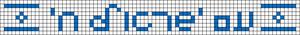 Alpha pattern #91314