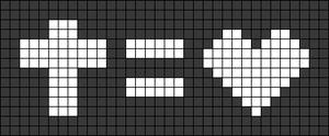 Alpha pattern #91325