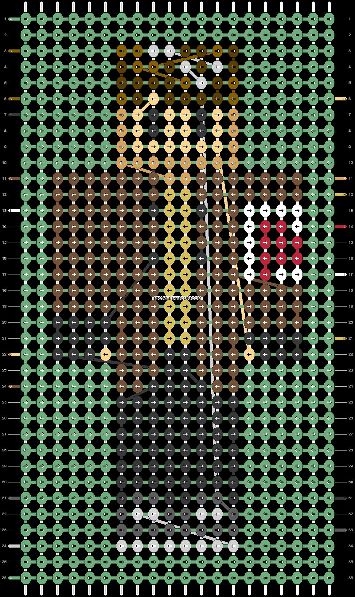 Alpha pattern #91334 pattern
