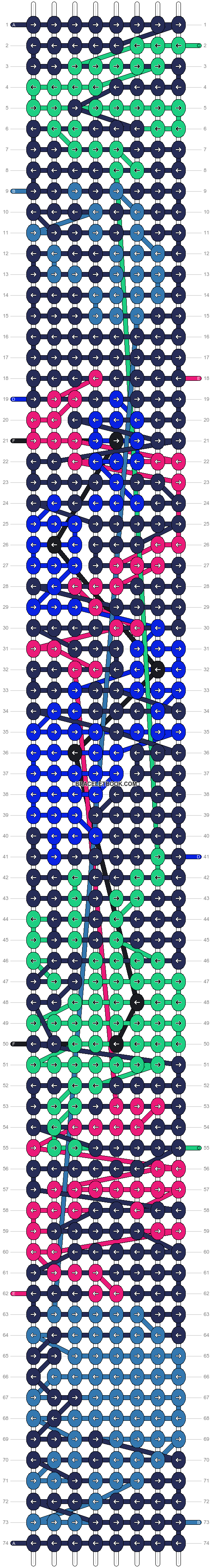 Alpha pattern #91367 pattern
