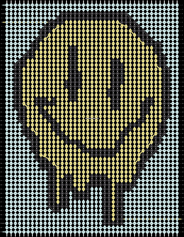 Alpha pattern #91387 pattern