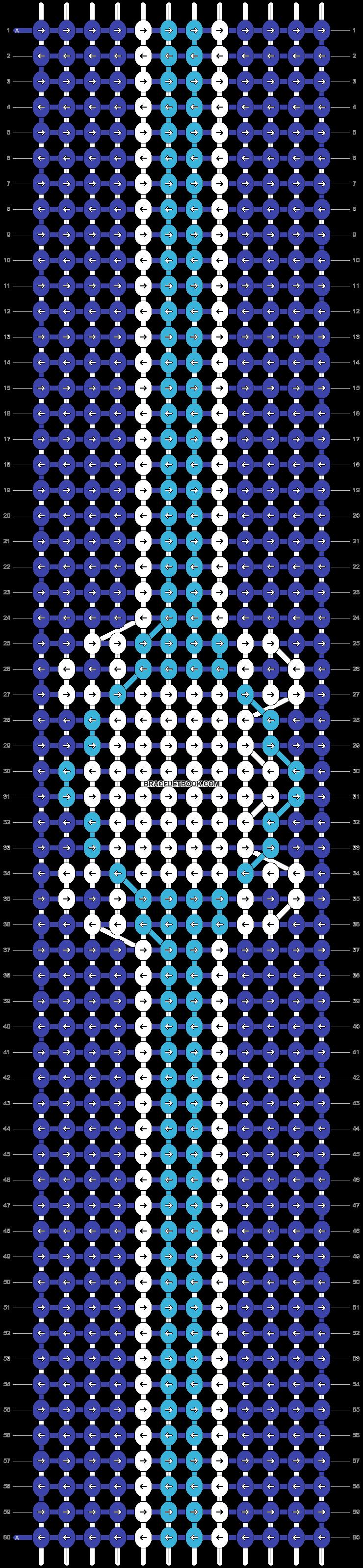 Alpha pattern #91401 pattern