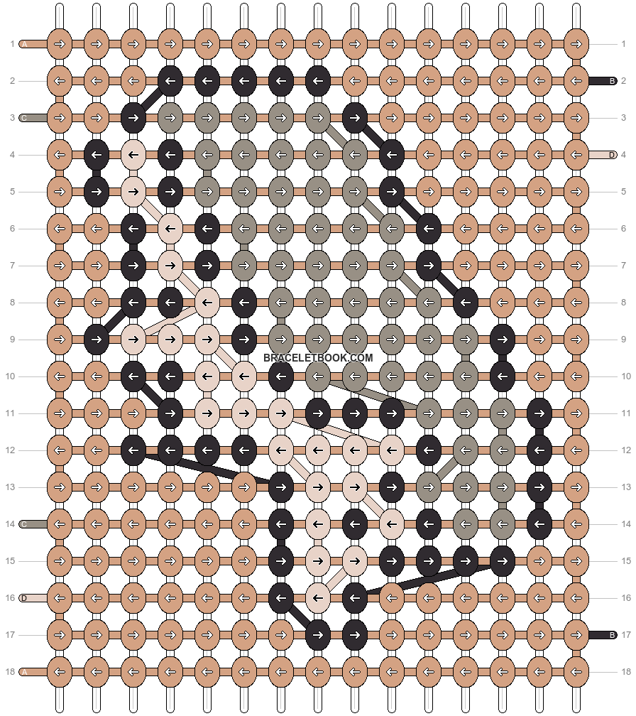 Alpha pattern #91421 pattern