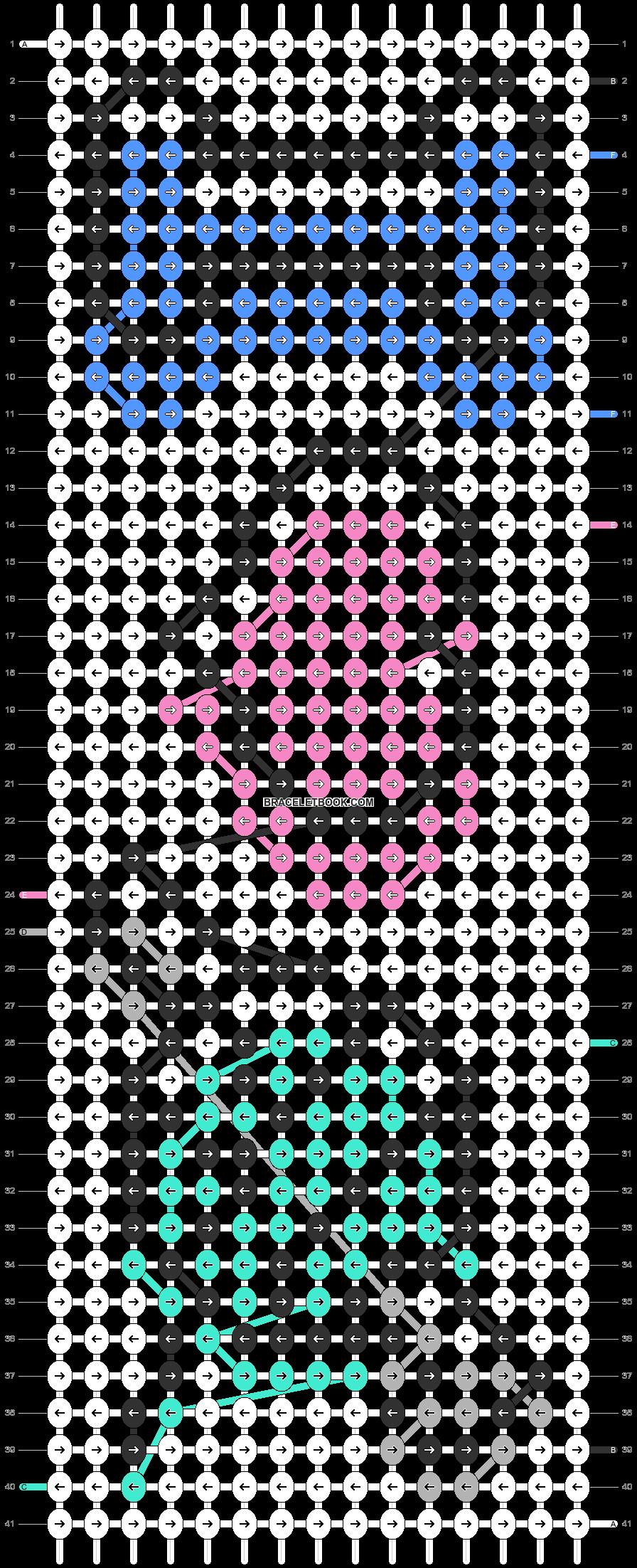 Alpha pattern #91428 pattern